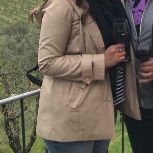 Michael Kors hooded trench coat - S